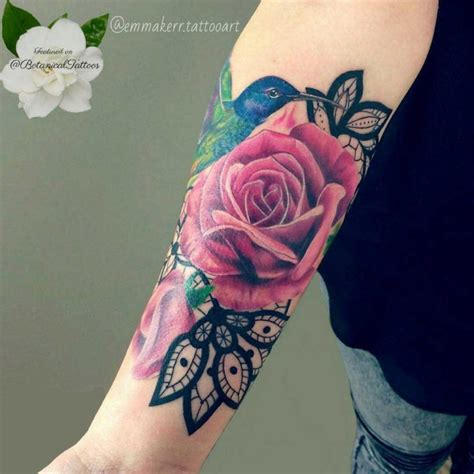 emma rose tattoo 51 real pink tattoos best ideas gallery