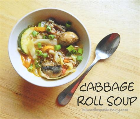 hamburgers and oyster stew a cabbage roll soup