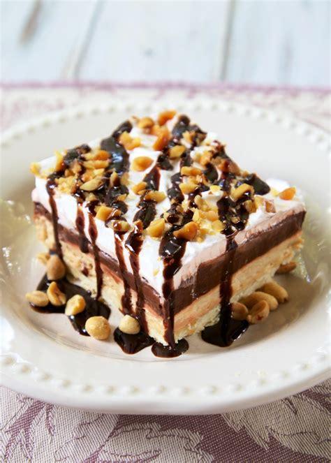 desserts peanut butter peanut butter chocolate delight plain chicken