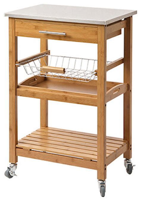 small kitchen island cart 28 images bamboo newhall kitchen island world market create a aya bamboo kitchen cart with stainless steel top modern