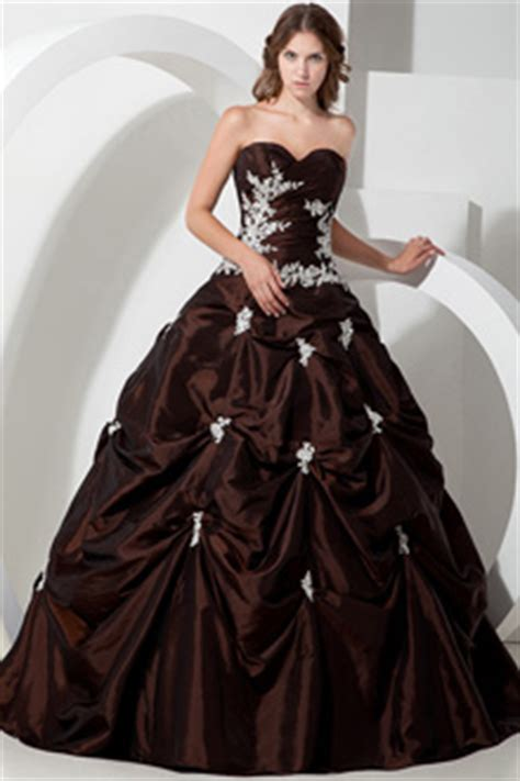 chocolate wedding dresses chocolate brown bridal gowns