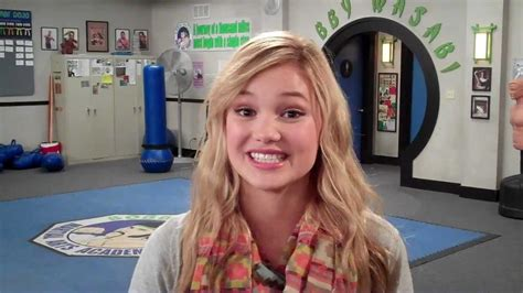 Behind The Scenes Of Quot Kickin It Quot With Olivia Holt Kim Youtube