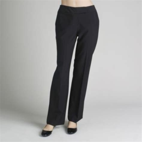 comfortable dress pants for women women s straight fit dress pants all day office comfort