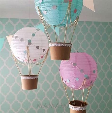 hot air balloon bathroom decor whimsical hot air balloon decoration diy kit nursery