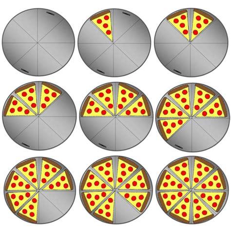 fraction clipart pizza fractions clipart set this set includes 22