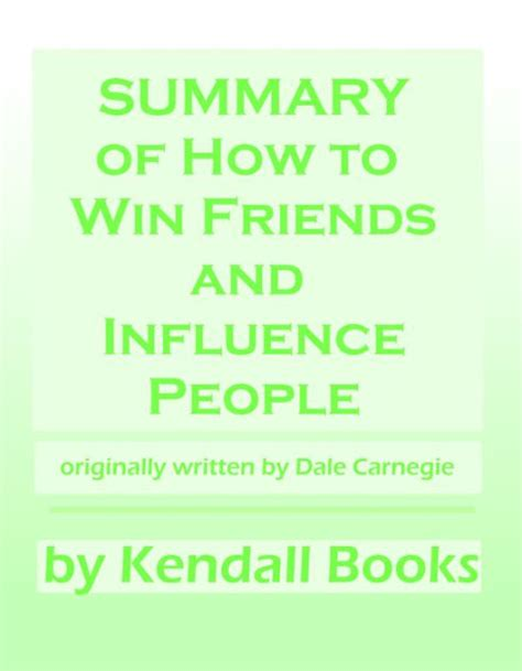 libro how to win friends summary of how to win friends and influence people by kendall nook book ebook barnes noble 174