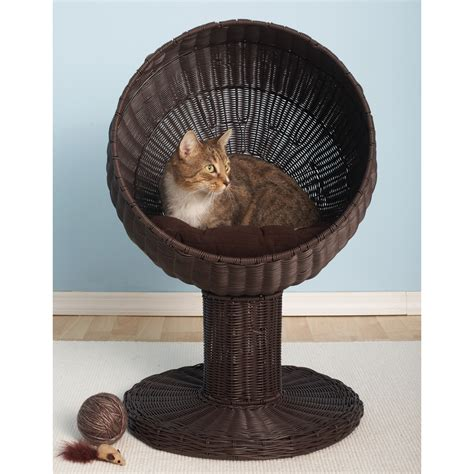 hooded cat bed the refined feline kitty ball hooded cat bed reviews
