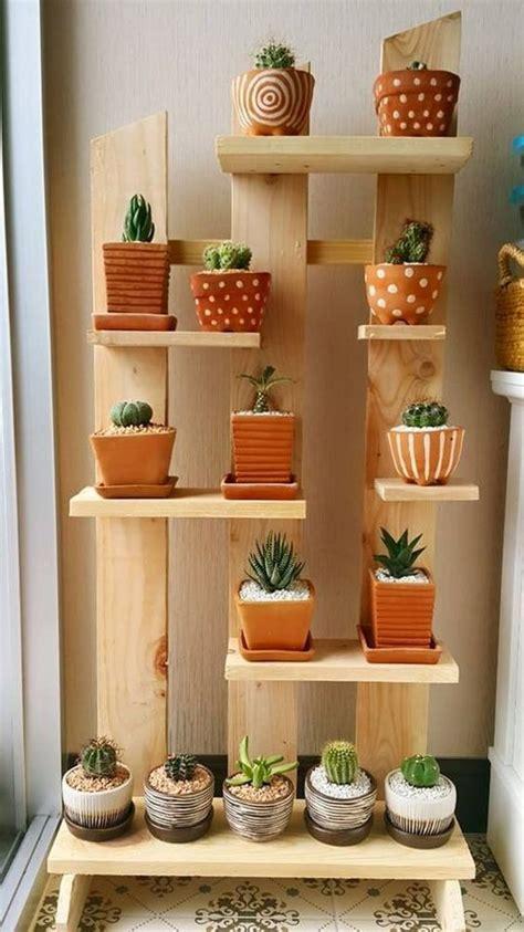 ideas para decorar interiores con cactus plantas de