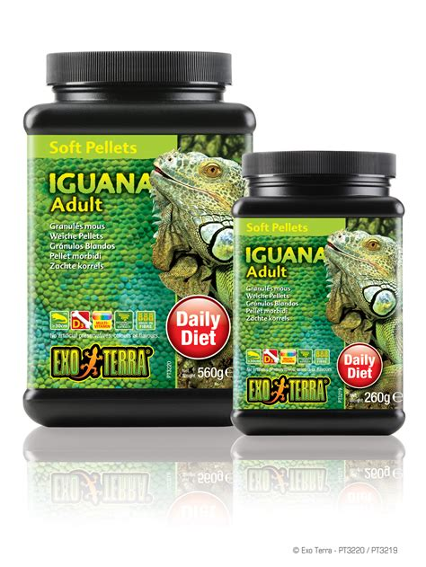 Vitamin Iguana exo terra soft pellets iguana soft pellets