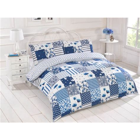 Patchwork Duvet Cover King Size - b m bright patchwork duvet set king bedding bed set