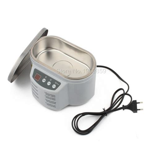 Ultrasonic Cleaner Stenlis Digital Timer With 30w 50w Power stainless steel dual 30w 50w display ultrasonic cleaner dental lab equipment artificial tooth
