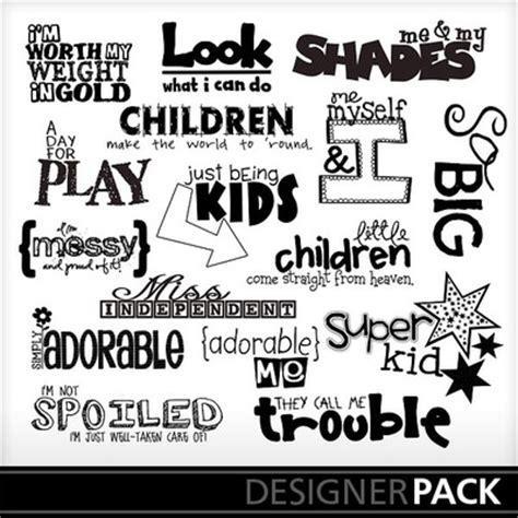 home design words digital scrapbooking kits super kid word art word