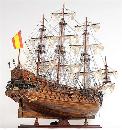 Wooden Warships Images - san felipe 28 quot wooden ship model sailboat assembled