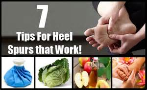 home remedies for heel spurs 7 cures for heel spurs how to cure heel spurs
