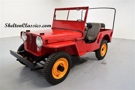 willys jeep offroad 1946 willys cj2a jeep 4x4 for sale 74458 mcg