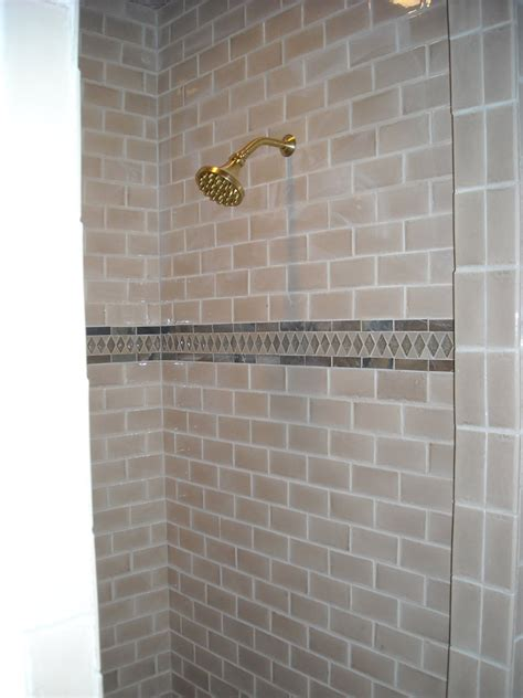 subway tile shower bathroom subway tile shower