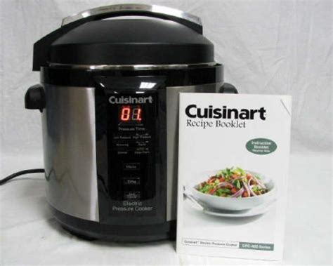 cuisinart pressure cooker cookbook easy delicious electric pressure cooker recipes for your cuisinart pressure cooker books cuisinart cpc 600 6qt electric pressure cooker 1000 watt