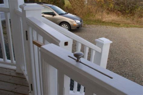 porch gate for dogs porch pet gate construction plans adapt this design for garden or fence gates
