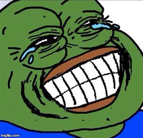 Laughing Meme Face - laughing pepe imgflip