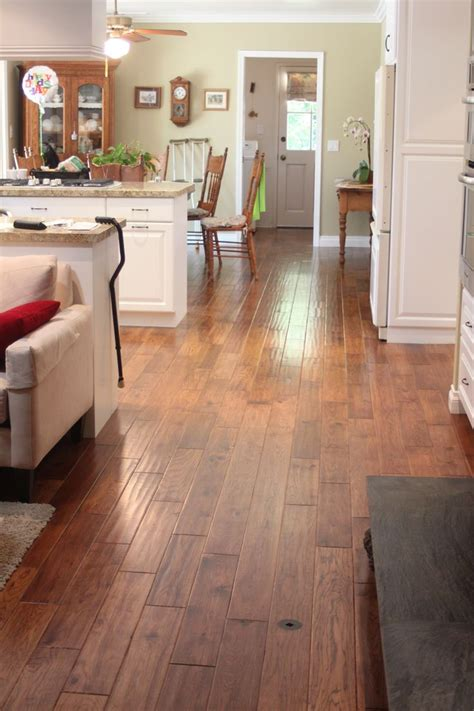 Hardwood Flooring In Kitchen Problems by 25 Best Ideas About Hickory Flooring On