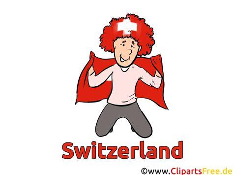 schweizer fussballfan clipart fussball