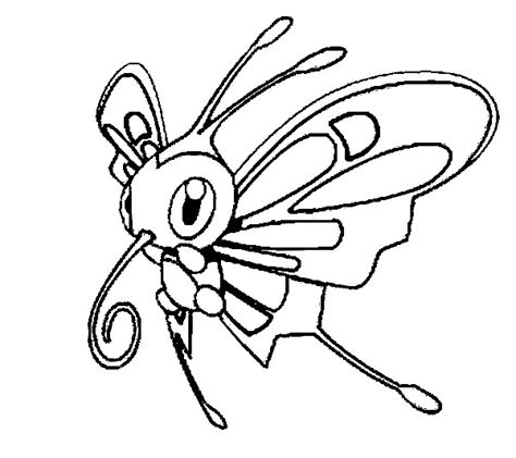 Pokemon Coloring Pages Beautifly | coloriages pokemon charmillon dessins pokemon
