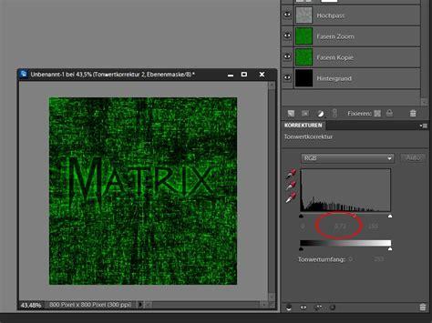 photoshop elements layout erstellen matrix hintergrund erstellen in photoshop elements