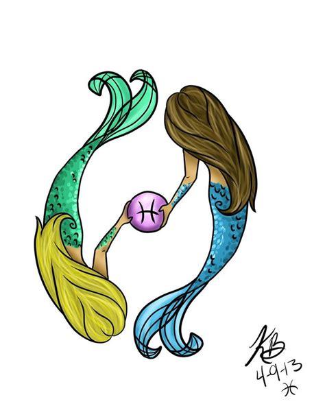 mermaid pisces tattoo best 25 mermaid designs ideas on