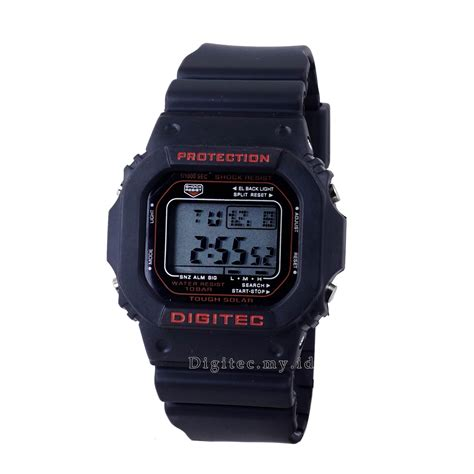 Digitec Digital Black Original digitec dg 2024t black jam tangan sport anti air murah