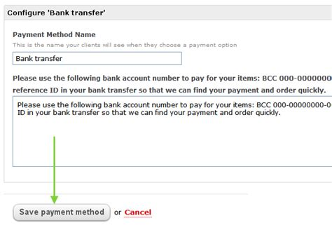 bank payment banking transfers payments and cheques