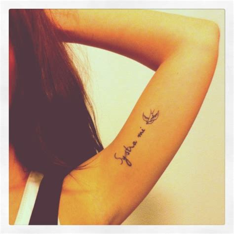 tattoo name under arm cool place for tattoo to honor kids under your wing and