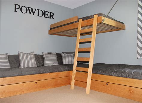 bunk bed system mapleart custom wood furniture vancouver bcenzian bunk