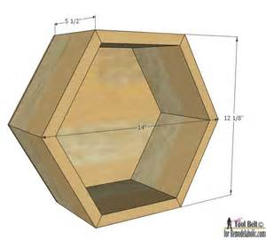 How To Build A Toy Box From Wood by Remodelaholic Diy Geometric Display Shelves