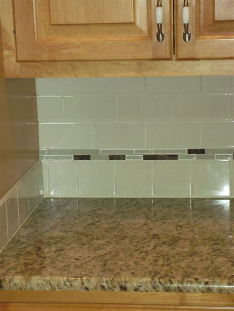 kitchen backsplash tile ideas subway glass 17 best images about bathroom ideas on