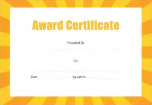 Free Editable Certificates Templates 10 Award Certificate Templates Free Examples Samples