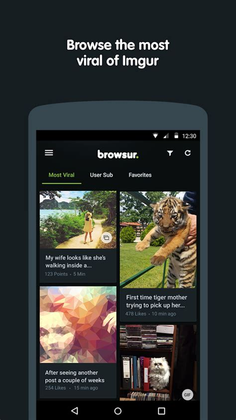 browsur for imgur 187 apk thing android apps free