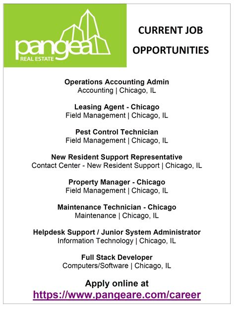 current job opportunities pangea real estate current job opportunities alderman