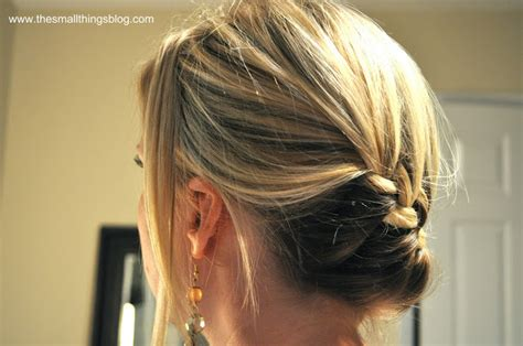 wrap around french side braid wrap around french braid the small things blog