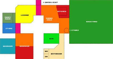 big brother house plan plan of big brother house house plans