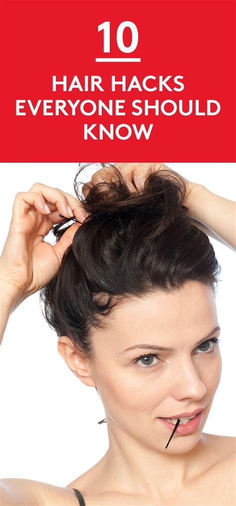 simple hairstyles hacks 304 best easy hairstyles images on pinterest easy