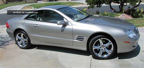 2005 mercedes sl500 base convertible 2 door 5 0l