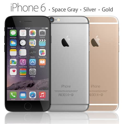 iphone 6 phone 3d model