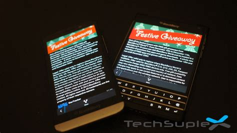 Blackberry Giveaway - blackberry is giving away some really cool apps this festive season techsuplex