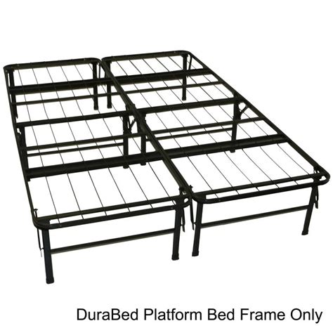 can you attach a headboard to a platform bed durabed full size steel foldable platform bed