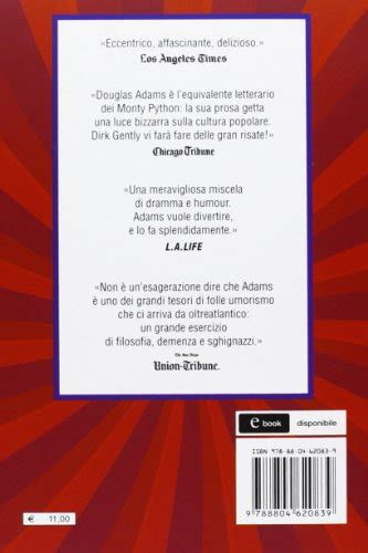 libro douglas adams dirk libro dirk gently agenzia investigativa olistica di douglas adams