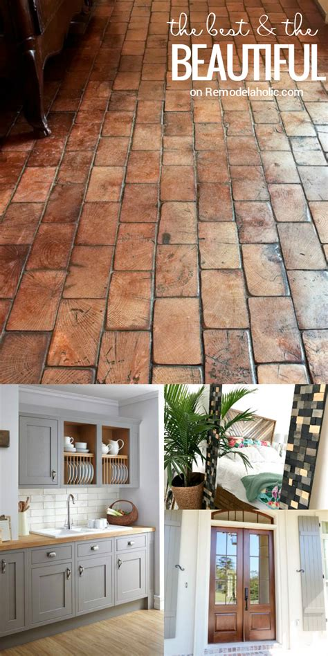 floors decor and more remodelaholic friday favorites wood block floor and a
