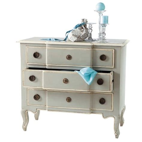 Mango Chest Of Drawers by Mango Wood Chest Of Drawers In Grey W 98cm Beaumanoir