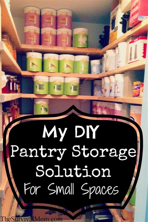 pantry ideas for small spaces my diy pantry storage solution for small spaces survival