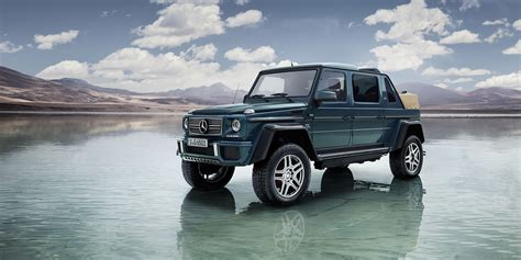 2017 mercedes maybach g650 landaulet officially revealed