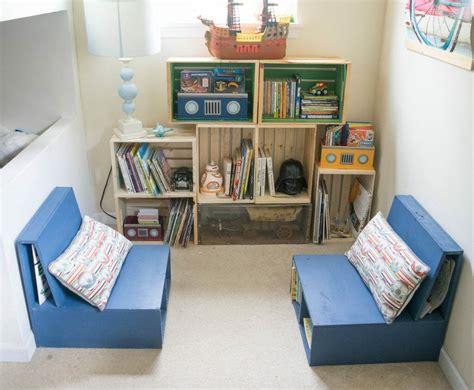 kids book storage ideas diy wooden crate bookshelf making the perfect kids